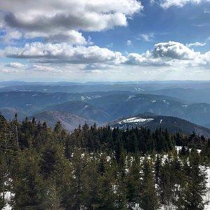 Terez Valčíková na vrcholu Lysá hora (14.3.2020 13:56)
