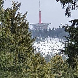 Jiří Gryz na vrcholu Lysá hora (14.3.2020 10:59)