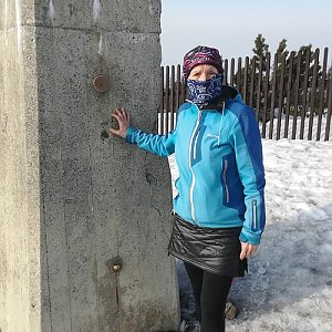 MUDr.Svatopluk Kunčar na vrcholu Lysá hora (18.3.2020 15:28)