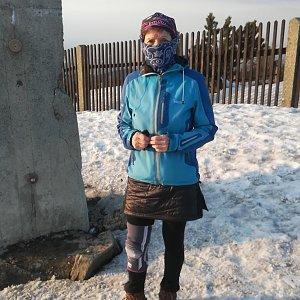 MUDr.Svatopluk Kunčar na vrcholu Lysá hora (19.3.2020 17:06)