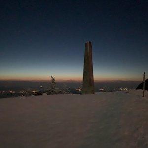Pavlaja na vrcholu Lysá hora (8.3.2020 18:44)