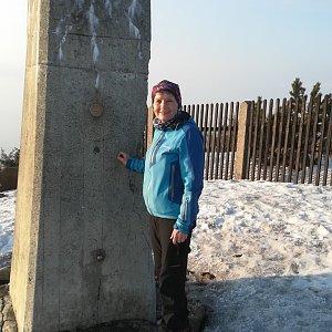 MUDr.Svatopluk Kunčar na vrcholu Lysá hora (20.3.2020 16:58)