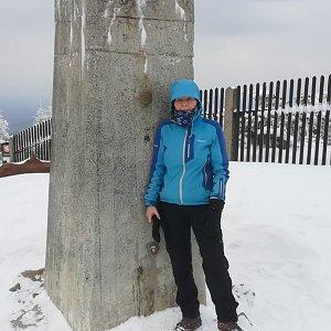 MUDr.Svatopluk Kunčar na vrcholu Lysá hora (23.3.2020 12:28)