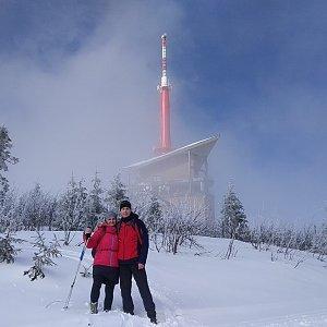 I+L Rajnochovi na vrcholu Lysá hora (23.3.2020 20:52)