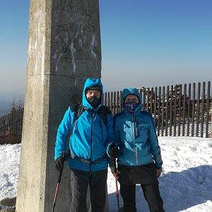 MUDr.Svatopluk Kunčar na vrcholu Lysá hora (24.3.2020 16:06)