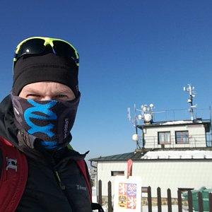 ZetBé na vrcholu Lysá hora (24.3.2020 16:03)