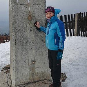 MUDr.Svatopluk Kunčar na vrcholu Lysá hora (26.3.2020 15:28)