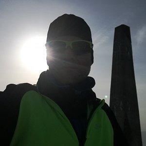 ZetBé na vrcholu Lysá hora (27.3.2020 16:06)