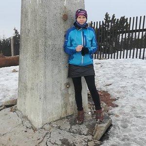 MUDr.Svatopluk Kunčar na vrcholu Lysá hora (29.3.2020 15:38)