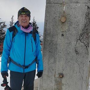 MUDr.Svatopluk Kunčar na vrcholu Lysá hora (31.3.2020 12:44)