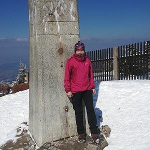 MUDr.Svatopluk Kunčar na vrcholu Lysá hora (1.4.2020 12:38)