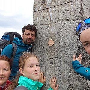 Babunka159 na vrcholu Lysá hora (16.6.2018 15:50)