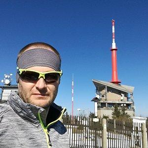 ZetBé na vrcholu Lysá hora (7.4.2020 15:30)