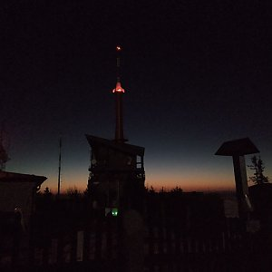Miros na vrcholu Lysá hora (8.4.2020 5:00)