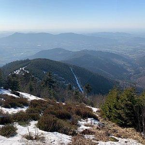 Pavlaja na vrcholu Lysá hora (8.4.2020 17:33)