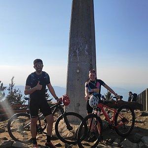 Fíkus na vrcholu Lysá hora (9.4.2020 17:20)