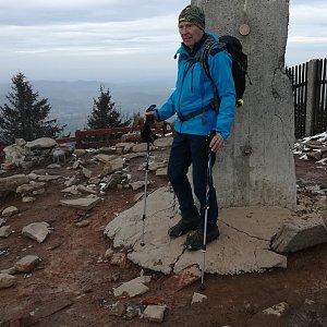 MUDr.Svatopluk Kunčar na vrcholu Lysá hora (15.4.2020 13:33)