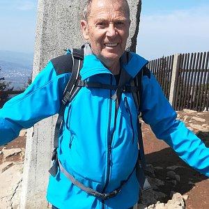MUDr.Svatopluk Kunčar na vrcholu Lysá hora (17.4.2020 13:30)