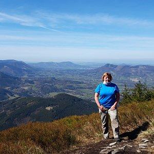 Pavla na vrcholu Lysá hora (16.4.2020 11:56)