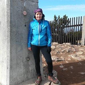 MUDr.Svatopluk Kunčar na vrcholu Lysá hora (19.4.2020 16:25)