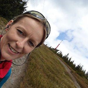 Michaela Karásková na vrcholu Lysá hora (26.4.2020 11:54)