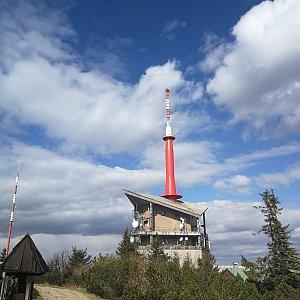 Petra Kosarkova na vrcholu Lysá hora (26.4.2020 15:56)