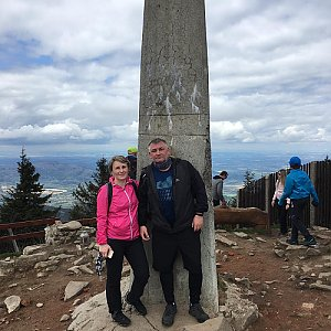 V+R na vrcholu Lysá hora (2.5.2020 12:30)
