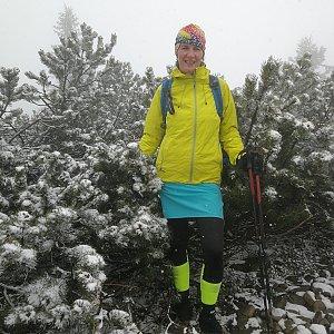 Petra Kosarkova na vrcholu Lysá hora (3.5.2020 8:14)