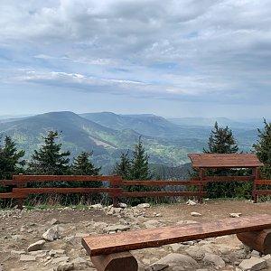 Pavlaja na vrcholu Lysá hora (10.5.2020 10:18)