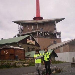 Vlasta a Zdena na vrcholu Lysá hora (1.7.2018 22:47)