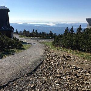 Jarek na vrcholu Lysá hora (16.5.2020 8:30)