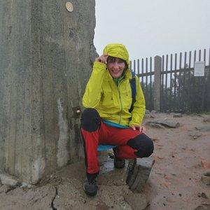 Petra Kosarkova na vrcholu Lysá hora (26.5.2020 10:14)