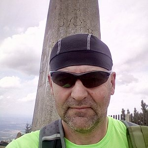 Li Be na vrcholu Lysá hora (4.6.2020 13:19)