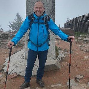 MUDr.Svatopluk Kunčar na vrcholu Lysá hora (10.6.2020 13:24)