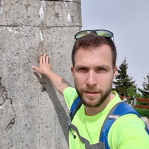 Filip Šimon na vrcholu Lysá hora (12.6.2020 10:27)