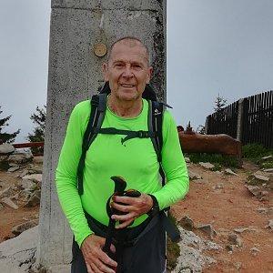 MUDr.Svatopluk Kunčar na vrcholu Lysá hora (12.6.2020 12:12)