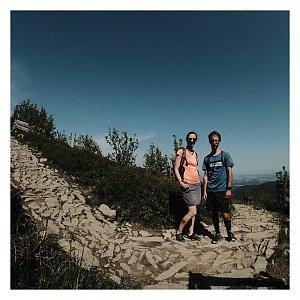 Dobros na vrcholu Lysá hora (13.6.2020 9:09)