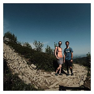 Folle na vrcholu Lysá hora (13.6.2020 9:09)