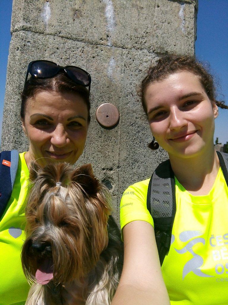 Kristýna Tarkotová na vrcholu Lysá hora (5.7.2018 12:56)