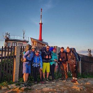 Vašek Slavík na vrcholu Lysá hora (15.6.2020 20:28)
