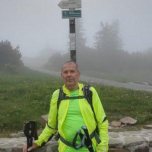 MUDr.Svatopluk Kunčar na vrcholu Lysá hora (17.6.2020 18:15)