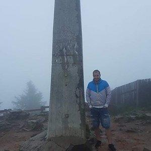 Bartek_na_cestach na vrcholu Lysá hora (22.6.2020 8:25)