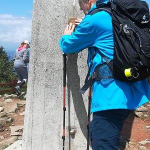 MUDr.Svatopluk Kunčar na vrcholu Lysá hora (23.6.2020 12:26)