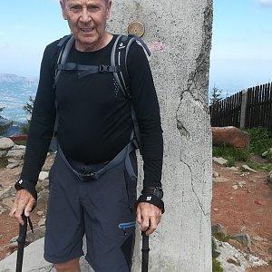 MUDr.Svatopluk Kunčar na vrcholu Lysá hora (25.6.2020 10:38)