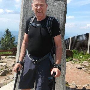 MUDr.Svatopluk Kunčar na vrcholu Lysá hora (26.6.2020 14:31)