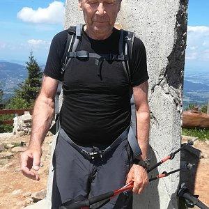 MUDr.Svatopluk Kunčar na vrcholu Lysá hora (28.6.2020 11:49)