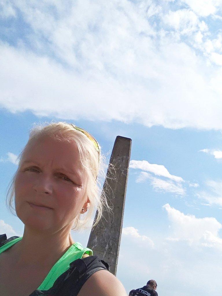 Katka na vrcholu Lysá hora (25.7.2018 16:22)