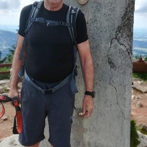 MUDr.Svatopluk Kunčar na vrcholu Lysá hora (30.6.2020 15:24)