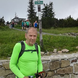 MUDr.Svatopluk Kunčar na vrcholu Lysá hora (2.7.2020 13:01)