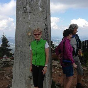 MUDr.Svatopluk Kunčar na vrcholu Lysá hora (4.7.2020 11:19)